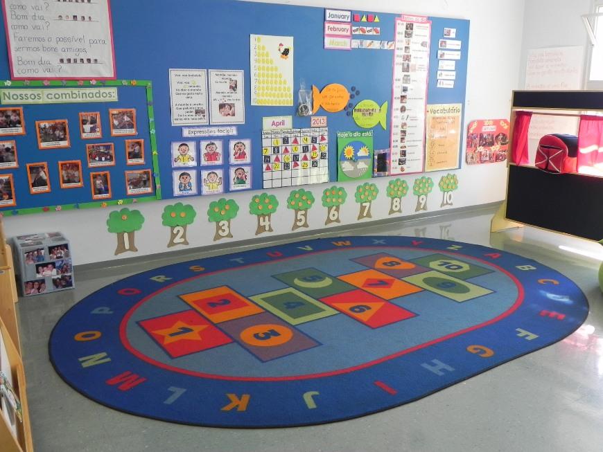 decoracao de sala aula educacao infantil : decoracao de sala aula educacao infantil:Educação Apaixonante: Beleza versus Funcionalidade em Sala de Aula